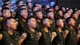 武警新疆总队机动第四支队举办歌咏比赛庆祝建党97周年