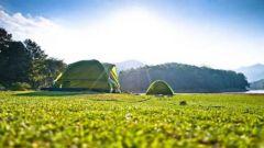 【野外生存】野外宿营怎样选择适宜搭帐篷的地方?