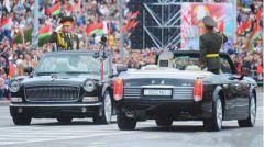 白俄罗斯阅兵式上抢眼的中国元素