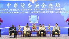 魏凤和会见首届中非防务安全论坛代表