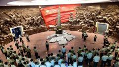 武警部队新条令集训队参观南昌八一起义纪念馆