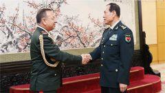 《军事报道》20180711魏凤和会见尼泊尔参谋长