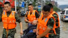 四川金堂:强降雨减弱 灾后恢复工作有序展开