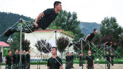 3000米高原 陇南支队森林卫士掀起练兵潮