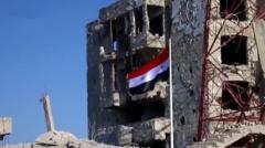叙利亚政府军收复叙南部德拉省首府