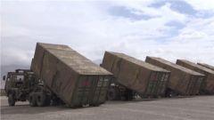 西藏军区:高原综合保障演练 检验协同作战能力