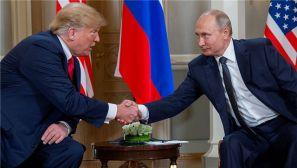特朗普和普京举行首次正式会晤