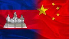 习近平同柬埔寨国王就中柬建交60周年互致贺电