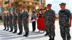 首支外军参赛队入驻中国库尔勒赛区