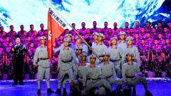 武警山西省总队举办庆祝建军91周年歌咏比赛