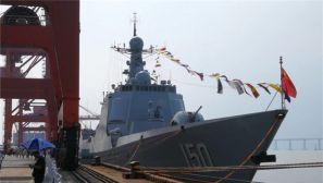 海军多型主力战舰首日开放吸引数千民众参观