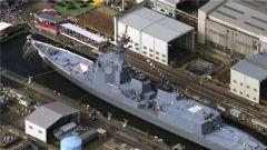 日本新宙斯盾驱逐舰下水