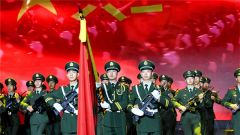 武警山西总队举办军91周年文艺晚会