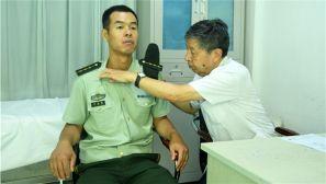 暖心 武警晋中支队组织退役干部健康体检