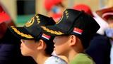 """""""国际军事比赛-2018""""""""海上登陆""""赛完成全部项目比赛 中国参赛队获团体冠军"""