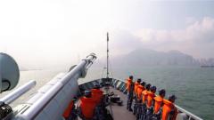 驻香港部队陆海空三军联合巡逻