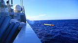 梅州舰实射战雷。张伟峰 摄