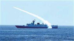 东海海域:三大战区海军10余艘舰艇导弹专业竞赛考核
