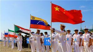 """国际军事比赛:""""海上登陆""""赛胜利闭幕"""