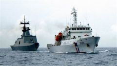 """打造""""第二海军""""台湾当局又作秀?"""