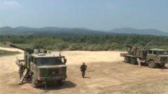 陆军:炮兵实弹战术演练 检验实战能力