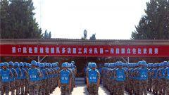 地中海畔 中国蓝盔开展比武竞赛