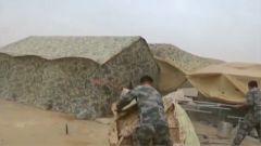 陆军:利用恶劣天气 摔打磨炼官兵