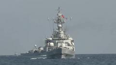 海军某护卫舰支队:多艘舰艇跨海区实战演练
