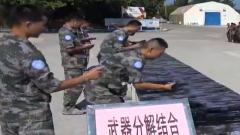 中国赴黎巴嫩维和官兵开展群众性比武竞赛