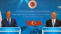 土俄外长共同批评美国制裁措施