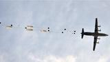 制空火力掩护,空降兵多批次集群伞降