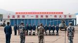驻香港部队组织陆海空三军第21次轮换