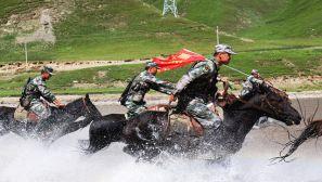 冲锋!铁血骑兵征战青藏高原