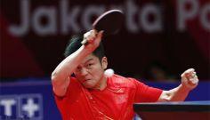 我军选手获亚运会乒乓球男单金牌