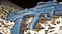 """""""枪膛安全旗"""":以色列士兵持枪必备"""