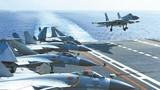 """舰载战斗机飞行员:""""飞鲨""""先锋征战深蓝"""