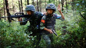 武警吉林总队:深山密林砺精兵