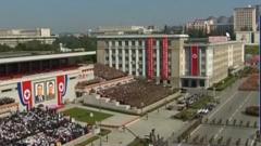 朝鲜举行国庆70周年盛大阅兵