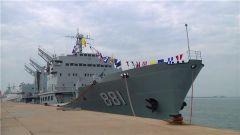 再见 洪泽湖舰 再见 中华补给第一舰