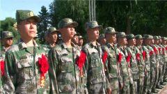 新疆生产建设兵团:千名新兵传承兵团精神立志军营