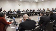 叙利亚问题四方会谈在日内瓦举行