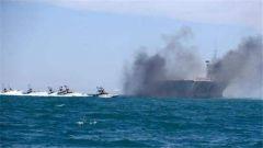 美英波斯湾军演 称为保航道安全
