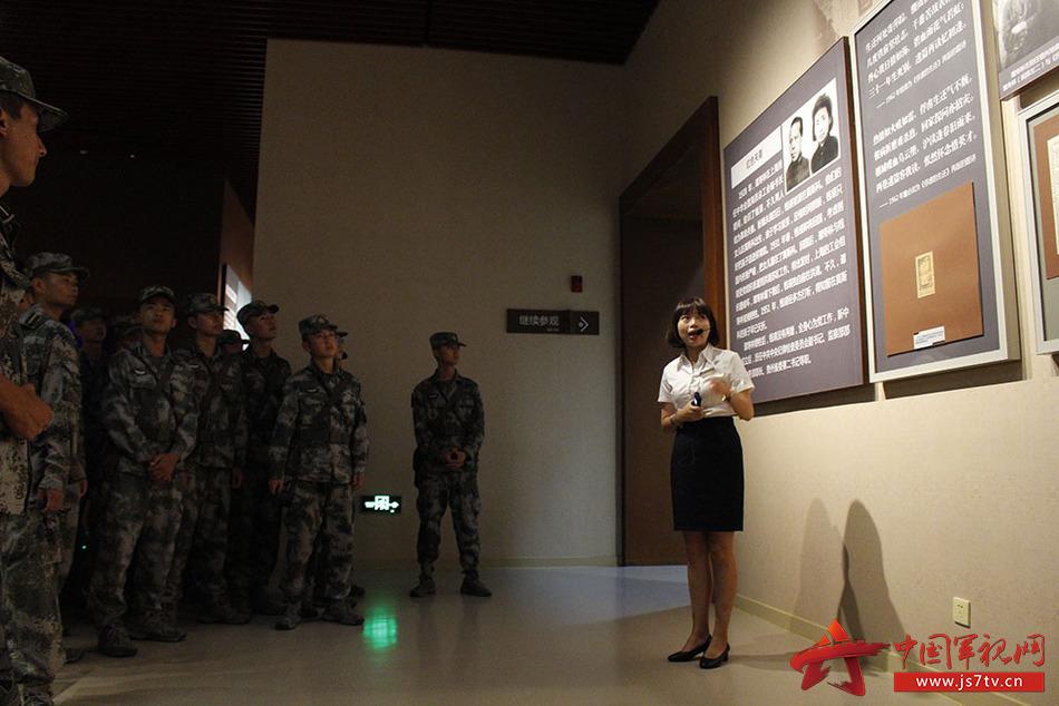 学员参观纪念馆