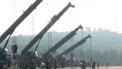 火箭军某基地:群众性比武拼实力比硬功