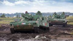 【第一军视】中俄战略演习大规模实兵演练