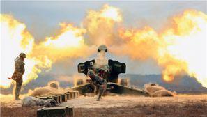 直击 新疆军区某炮兵团实弹射击大片
