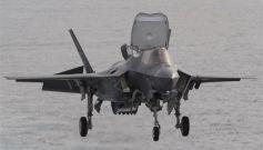 美军一架F-35B战机发生坠机事故