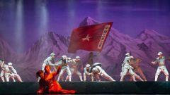 将星闪烁大舞台举行迎国庆现代京剧专场演出