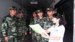 蚌埠支队严密组织新兵体检复查