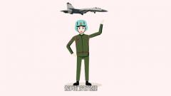 来!当舰载机飞行员 做我们的英雄